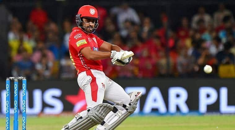 Karun Nair has scored just 5 runs against Mumbai Indians on the 10th of April