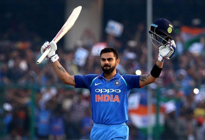 Virat Kohli loves Hitting Hundreds.