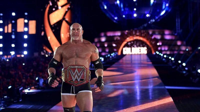 Goldberg last wrestled at WrestleMania 33