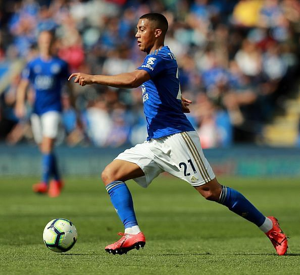 Tielemans in action in the Premier League