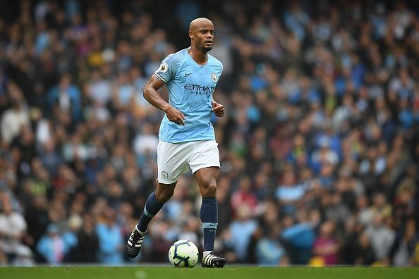 Vincent Kompany is a legend at Manchester City