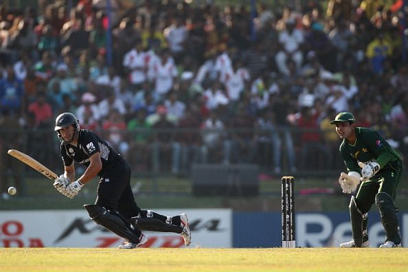 Ross Taylor's explosive strokeplay left the Pakistanis shell-shocked.