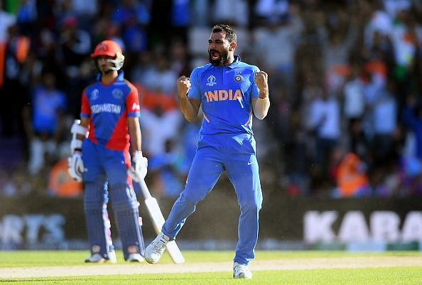 Mohammad Shami was in fine touch against Afghanistan