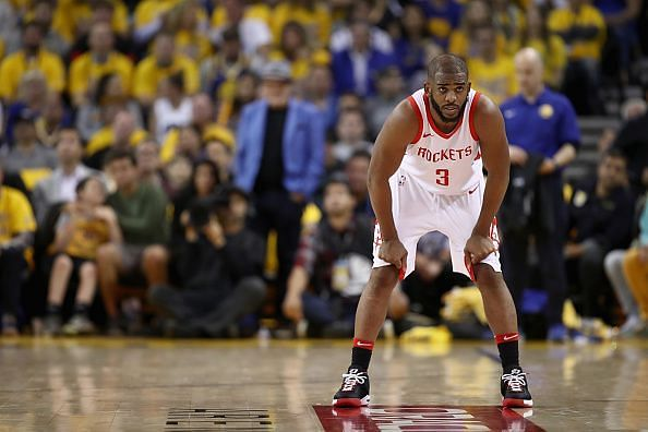 The Rockets are keen to trade Chris Paul despite only handing him a new deal last summer