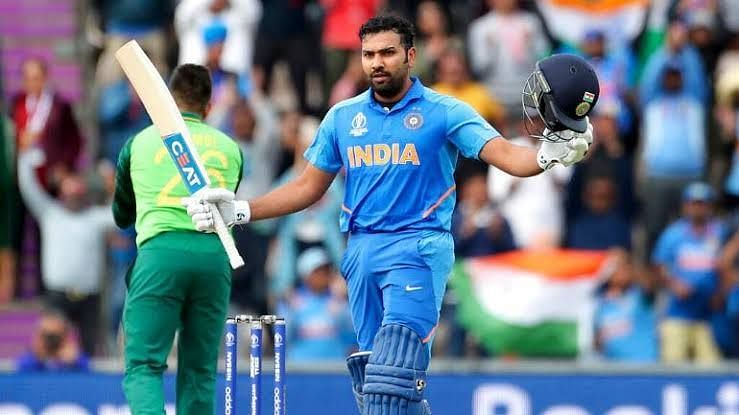 Rohit Sharma showed patience to help India ride over the tide