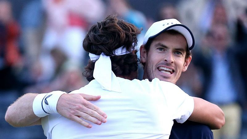 Andy Murray and Lopez - cropped