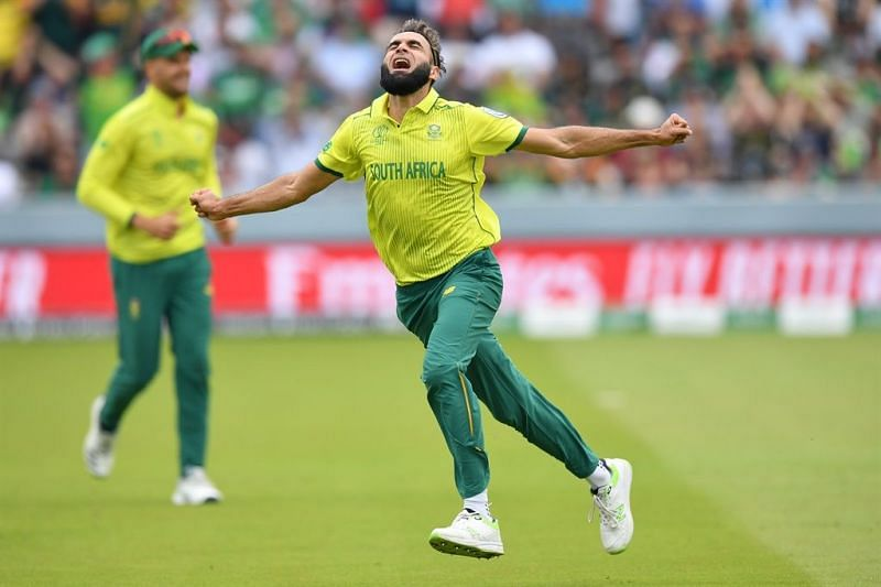 Imran Tahir is the oldest player playing in the 2019 Cricket World Cup