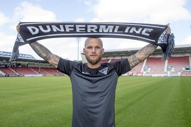 Kallum Higginbotham represented Dunfermline Athletic FC for three seasons