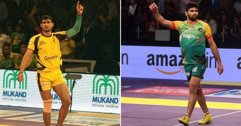 Pardeep Narwal and Rahul Chaudhari have been two of the best raiders in the Pro Kabaddi League
