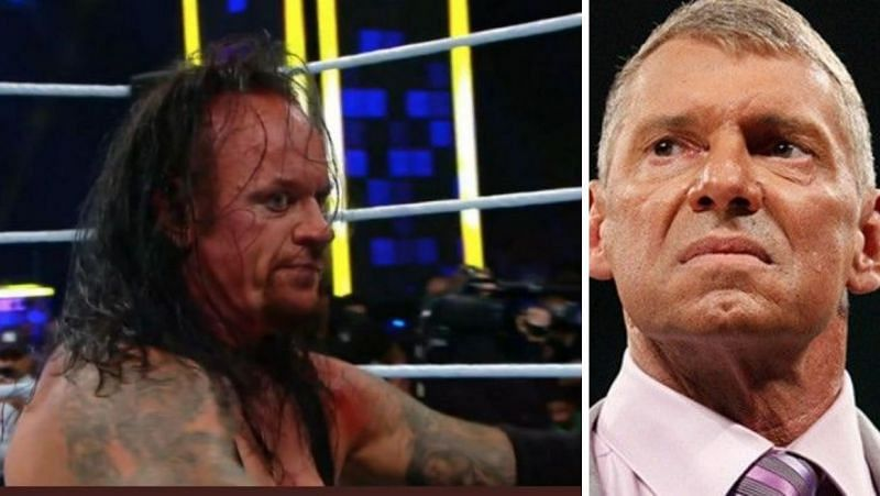 The Undertaker was not happy