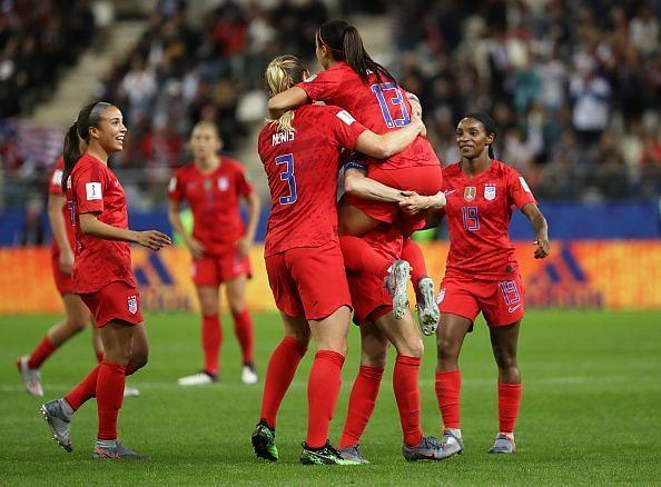 USA v Thailand: Group F - 2019 FIFA Women