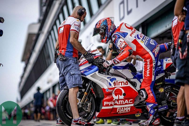 Riding a MotoGP bike is not as easy as it may look like