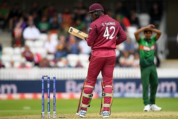 West Indies lower order could not capitalise on the foundation provided by their top order.