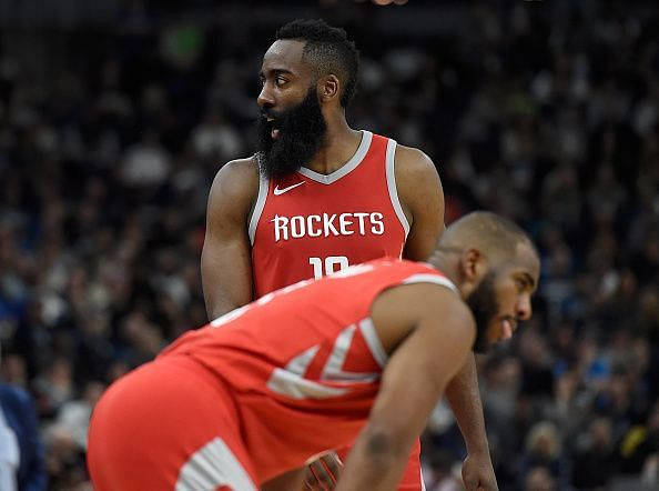 The Houston Rockets are willing to trade their entire roster this summer