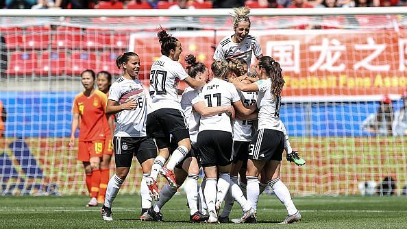 Germany v China PR: Group B - 2019 FIFA Women
