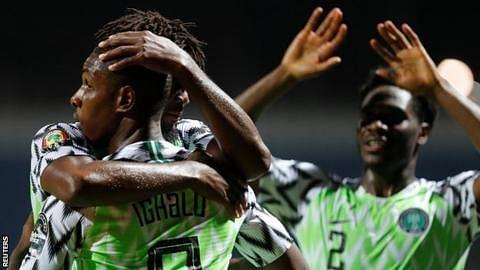 Nigeria celebrates Ighalo