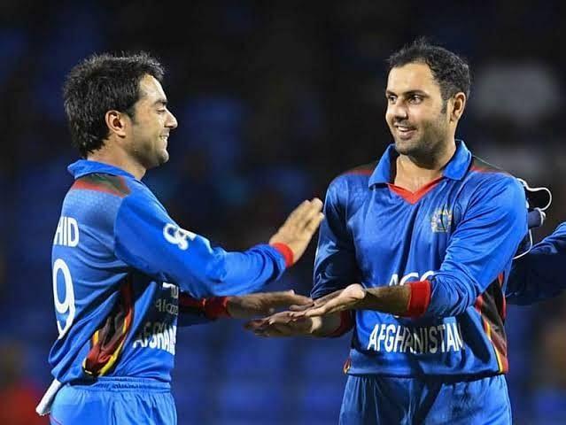 Rashid khan & Mohammed nabi