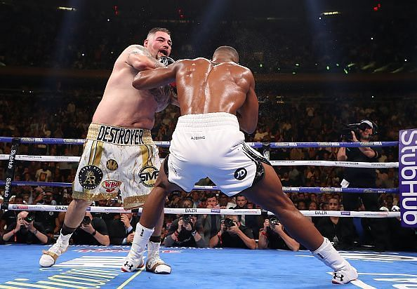 Anthony Joshua was completely outclassed by Andy Ruiz