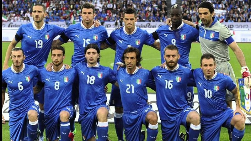 The Italian national football team