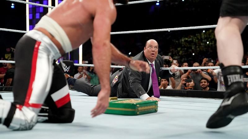 Will someone cost Lesnar his briefcase