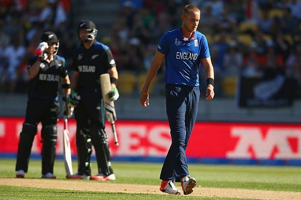 England v New Zealand - 2015 ICC Cricket World Cup