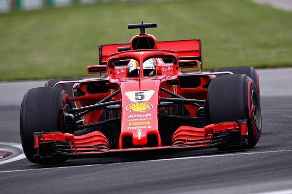 Sebastian Vettel won last year
