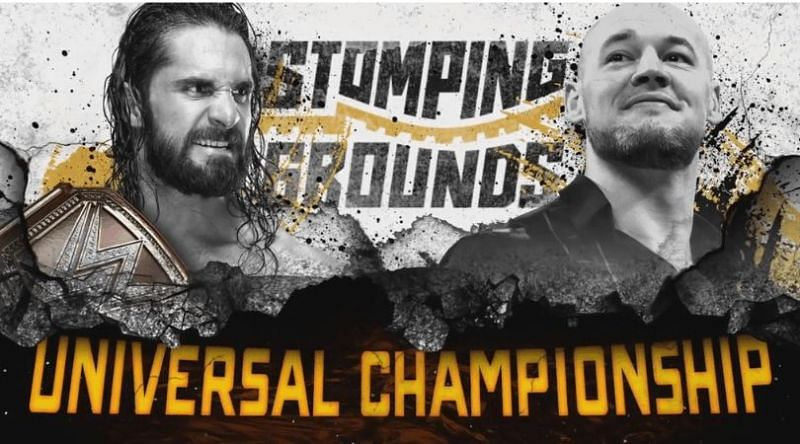 Seth Rollins will collide with Baron Corbin once again in two weeks at the Stomping Grounds pay-per-view