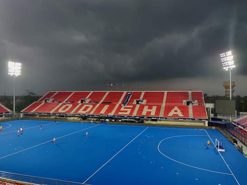 The Kalinga Stadium is all set to host yet another world event