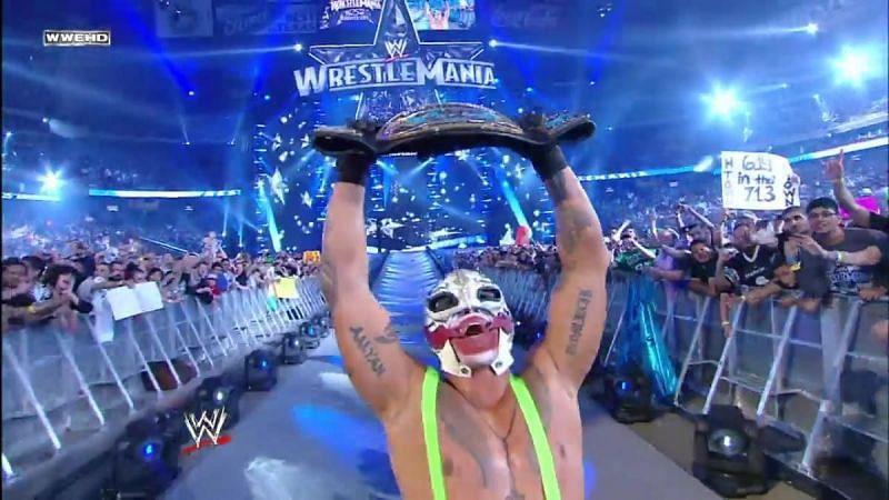 Mysterio surprised JBL.