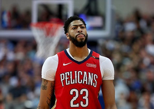 Anthony Davis is heading to the Los Angeles Lakers