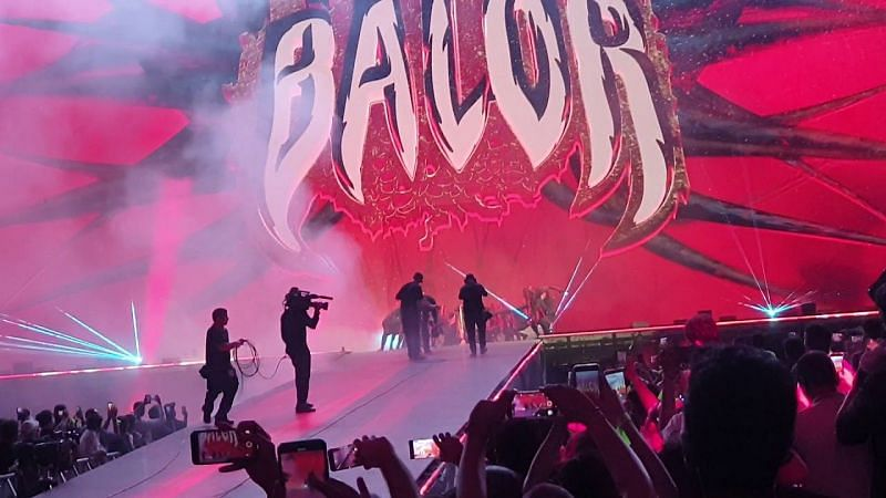One of the best moments of the show was Finn Balor
