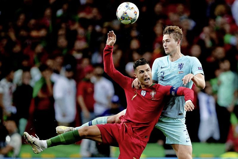De Ligt is likely to share the dressing room with Ronaldo next season in Turin.