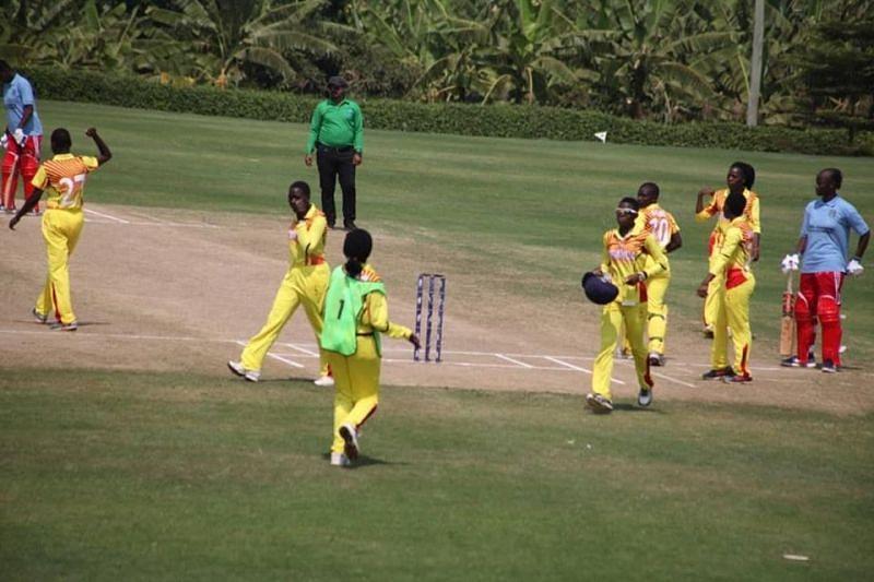 युगांडा vs माली (photo credit - cricket uganda )