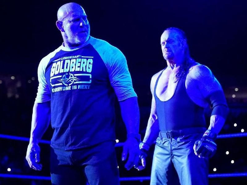 The Deadman defeated Goldberg at Super ShowDown to leave WWE on a high
