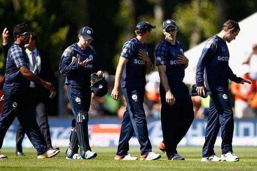 The Scotland cricket team