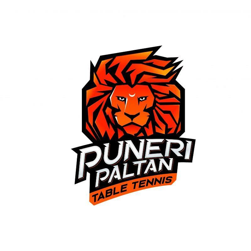 Puneri Paltan Table Tennis Logo