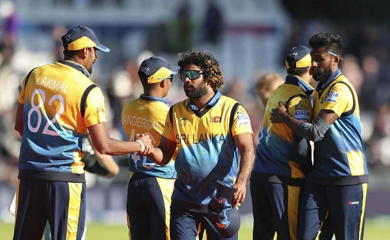 Lasith Malinga is at the center of the things for Sri Lanka