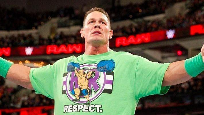 जॉन सीना ने WWE को शुर्किया किया