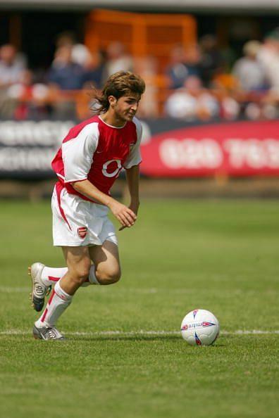 Francesc Fabregas of Arsenal