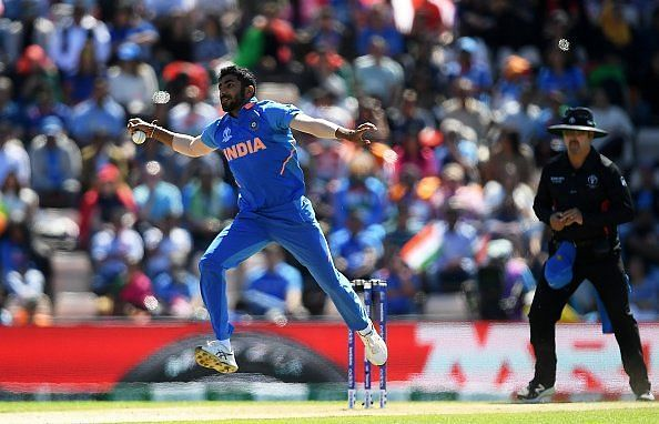 Bumrah bowled a string of yorkers in his final two overs