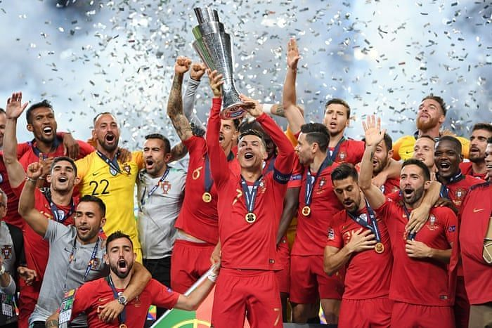 Uefa Nations League Final Ronaldo Leads His Side To Another International Trophy As Portugal Beat Netherlands 1 0