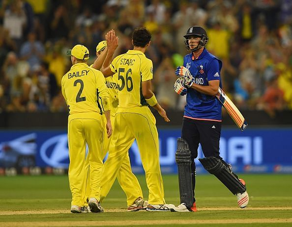 England v Australia - 2015 ICC Cricket World Cup