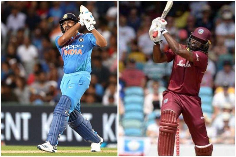 Rohit Sharma vs Chris Gayle