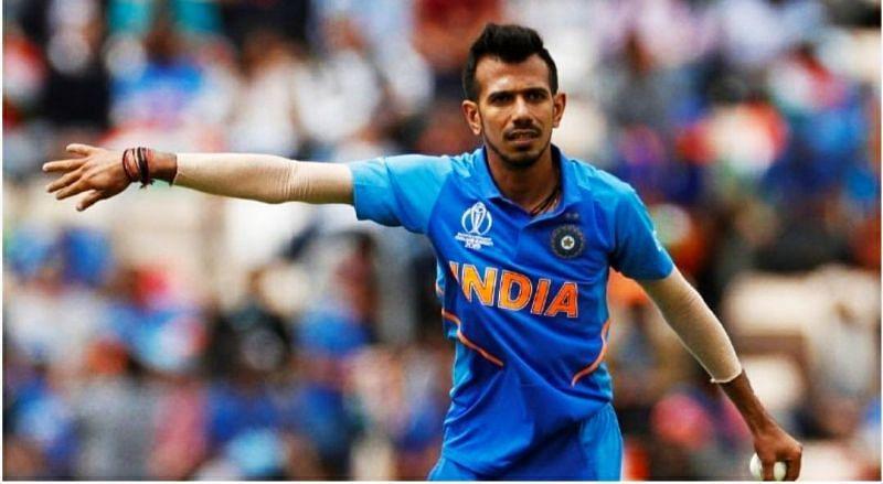 Yuzvendra chahal - 8 wickets