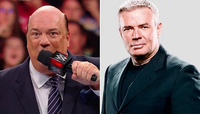 Paul Heyman and Eric Bischoff have huge roles in WWE.