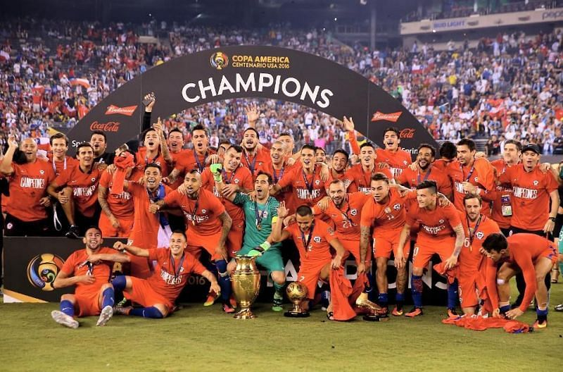 Chile won the Copa America Centenario in 2016 by defeating Argentina