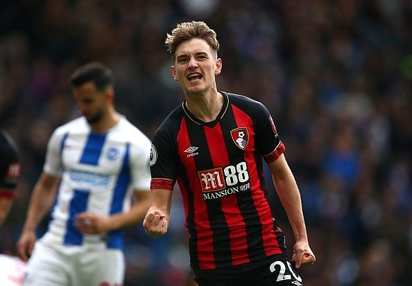 Brooks enjoyed a fine break-out season in the red and black of Bournemouth.