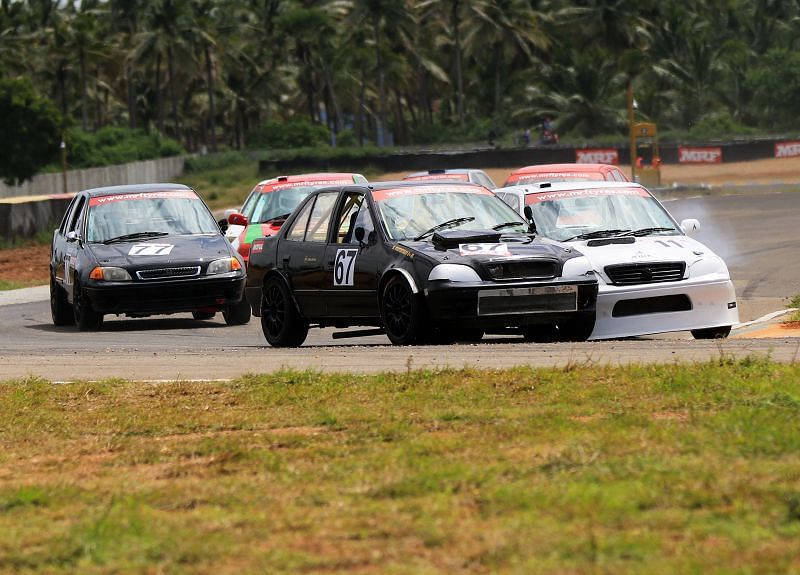 Indian Touring Cars in Action