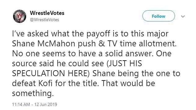 WRESTLE VOTES