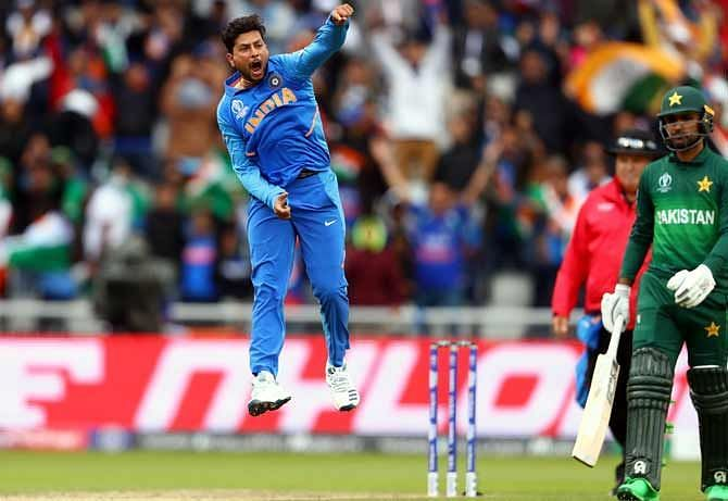 Golden Arm of Kuldeep Yadav tore through the top order of Pakistan